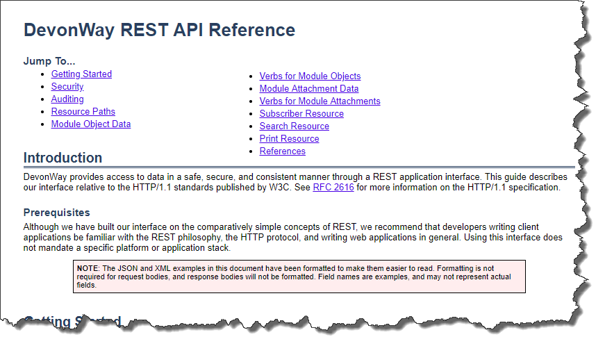 REST-Reference