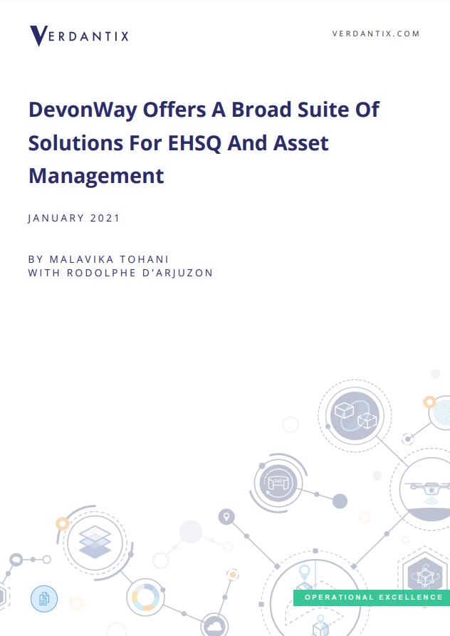 Verdantix DevonWay Case Study