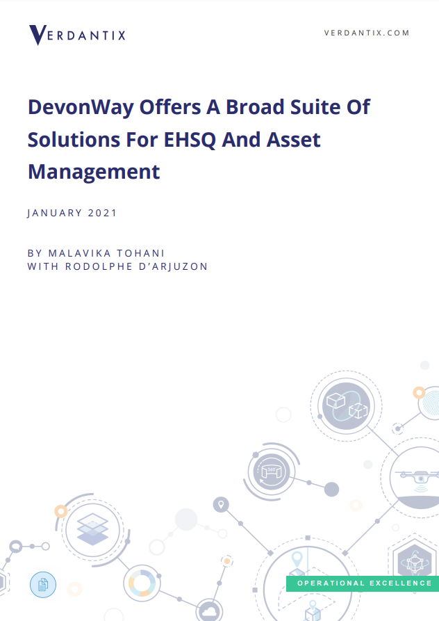 Firms looking for a reliable software platform for Safety, Quality, and Asset Management should consider DevonWay.